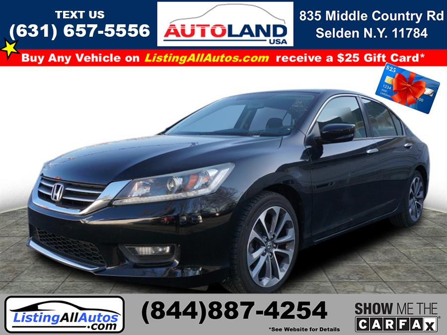Used 2015 Honda Accord in Patchogue, New York | www.ListingAllAutos.com. Patchogue, New York