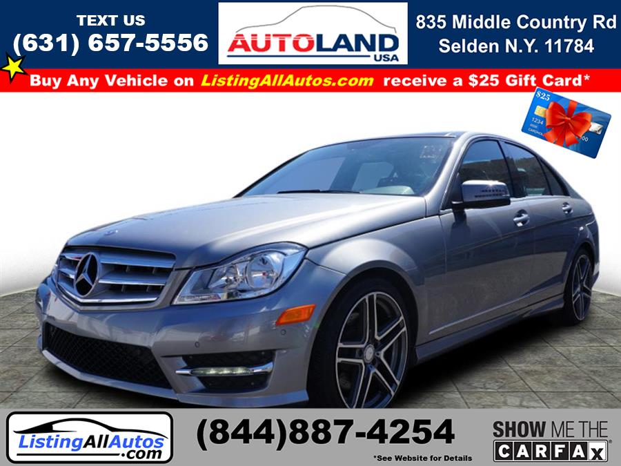 Used Mercedes-benz C-class C 300 Luxury 4MATIC 2014 | www.ListingAllAutos.com. Patchogue, New York