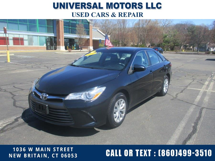 Used Toyota Camry 4dr Sdn I4 Auto LE (Natl) 2016 | Universal Motors LLC. New Britain, Connecticut