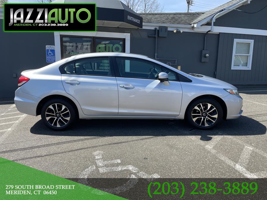 Used Honda Civic Sedan 4dr CVT EX 2015 | Jazzi Auto Sales LLC. Meriden, Connecticut