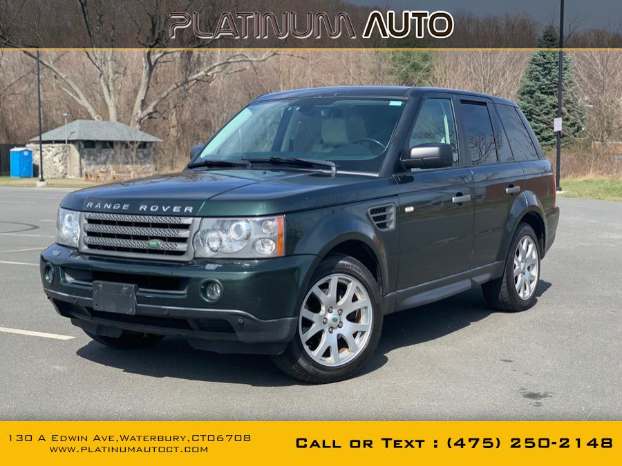 Used Land Rover Range Rover Sport 4WD 4dr HSE 2009 | Platinum Auto Care. Waterbury, Connecticut