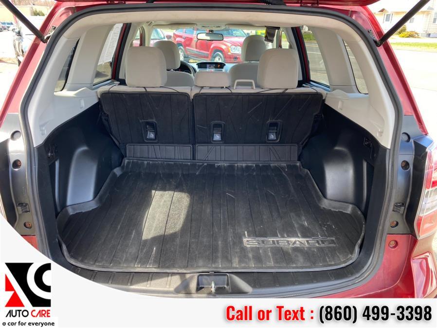 Used Subaru Forester 4dr Auto 2.5i Premium PZEV 2014 | Auto Care Motors. Vernon , Connecticut