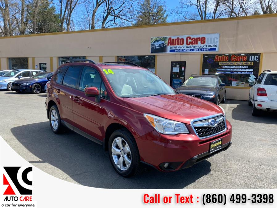 Used Subaru Forester 4dr Auto 2.5i Premium PZEV 2014 | Auto Care Motors. Vernon , Connecticut