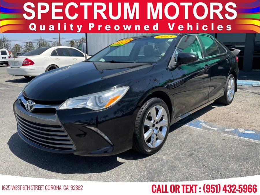 Used Toyota Camry 4dr Sdn I4 Auto SE (Natl) 2015 | Spectrum Motors. Corona, California