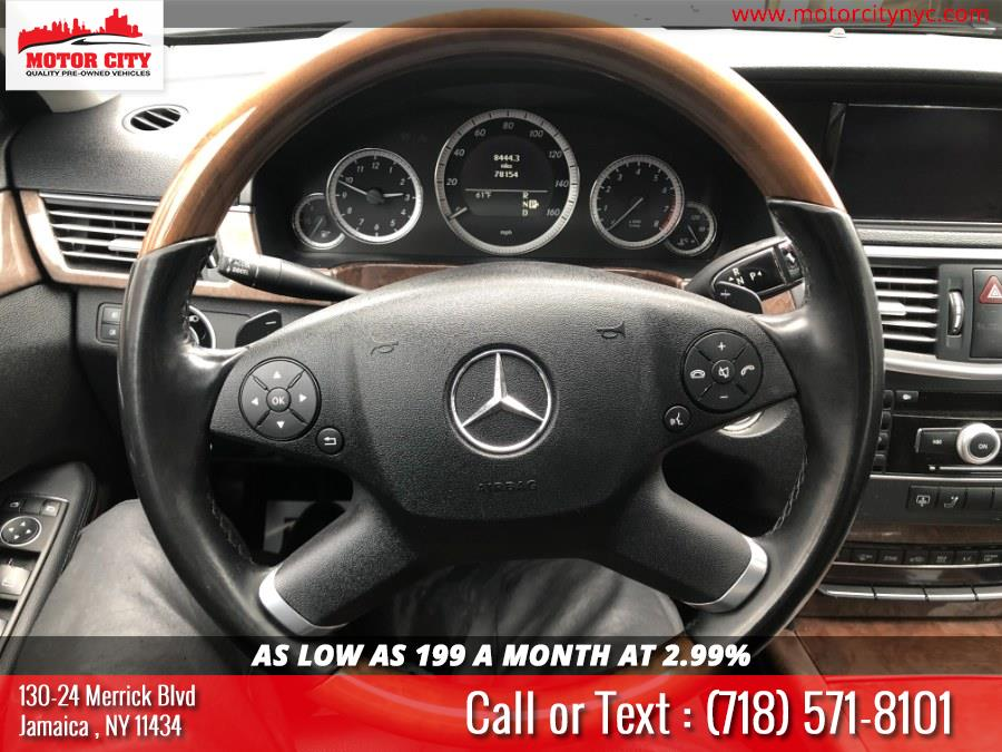 Used Mercedes-Benz E-Class 4dr Sdn E350 Luxury 4MATIC 2011   Motor City. Jamaica, New York