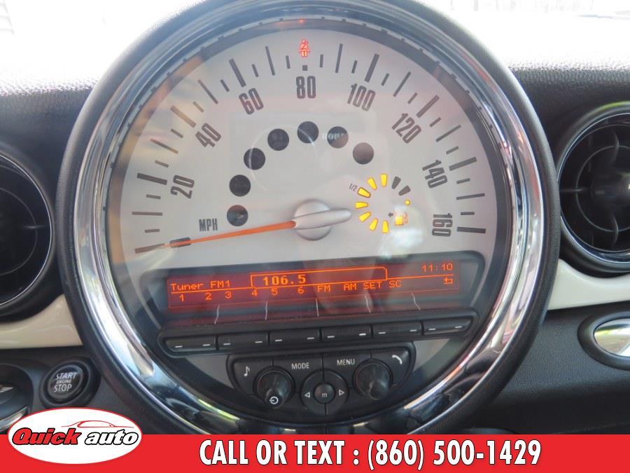 Used MINI Cooper Clubman 2dr Cpe S 2014   Quick Auto LLC. Bristol, Connecticut