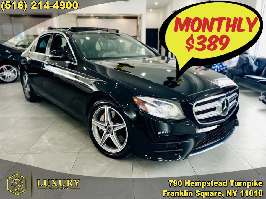 Used 2018 Mercedes-Benz E-Class in Franklin Square, New York | Luxury Motor Club. Franklin Square, New York