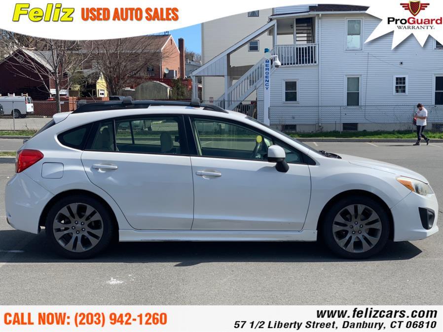 Used Subaru Impreza Wagon 5dr Auto 2.0i Sport Premium 2012 | Feliz Used Auto Sales. Danbury, Connecticut