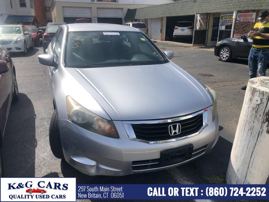 Used Honda Accord Sdn 4dr I4 Auto LX 2009 | K and G Cars . New Britain, Connecticut