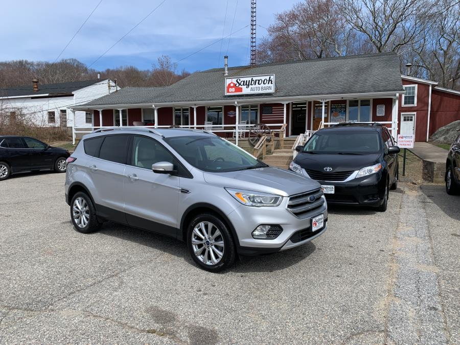Used Ford Escape Titanium 4WD 2017 | Saybrook Auto Barn. Old Saybrook, Connecticut