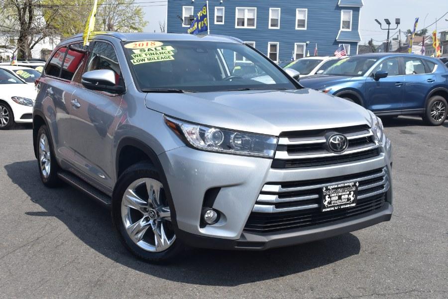 Used Toyota Highlander Limited V6 AWD (Natl) 2018 | Foreign Auto Imports. Irvington, New Jersey