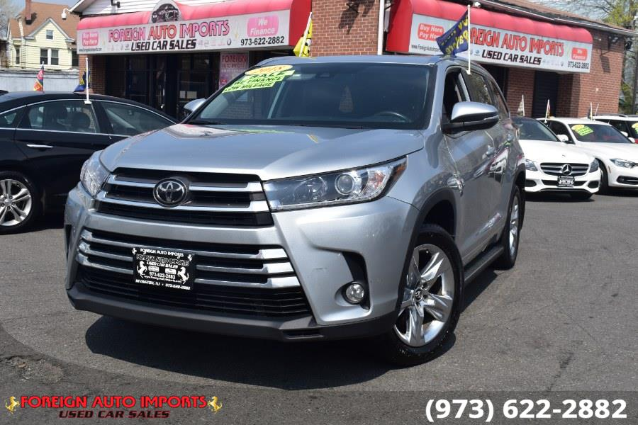 Used 2018 Toyota Highlander in Irvington, New Jersey | Foreign Auto Imports. Irvington, New Jersey