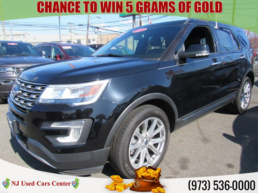 Used Ford Explorer Limited 4WD 2017 | NJ Used Cars Center. Irvington, New Jersey