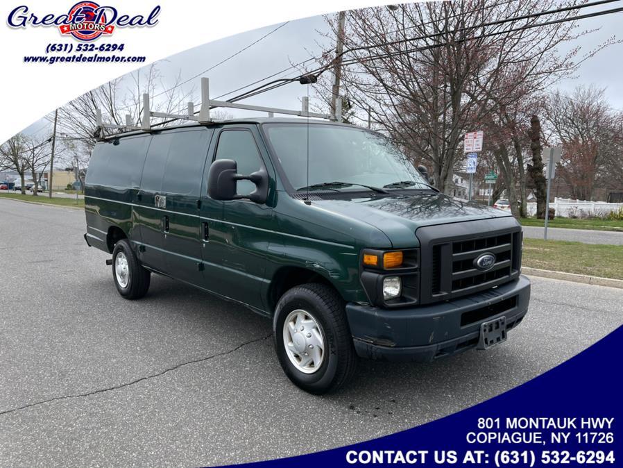 Used Ford Econoline Cargo Van E-350 Super Duty Ext Commercial 2008 | Great Deal Motors. Copiague, New York