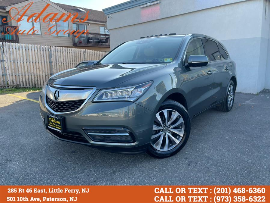 Used Acura MDX SH-AWD 4dr w/Tech 2016 | Adams Auto Group . Little Ferry , New Jersey