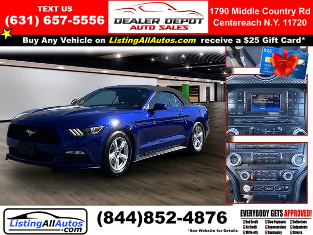 Used 2016 Ford Mustang in Patchogue, New York | www.ListingAllAutos.com. Patchogue, New York