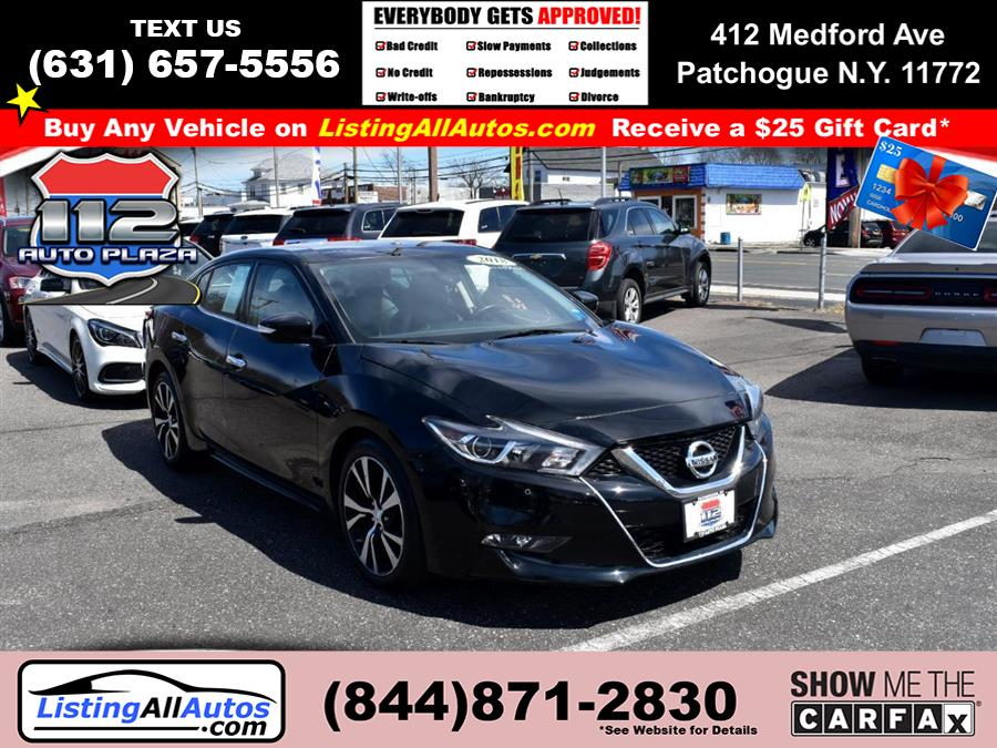 Used 2018 Nissan Maxima in Patchogue, New York | www.ListingAllAutos.com. Patchogue, New York