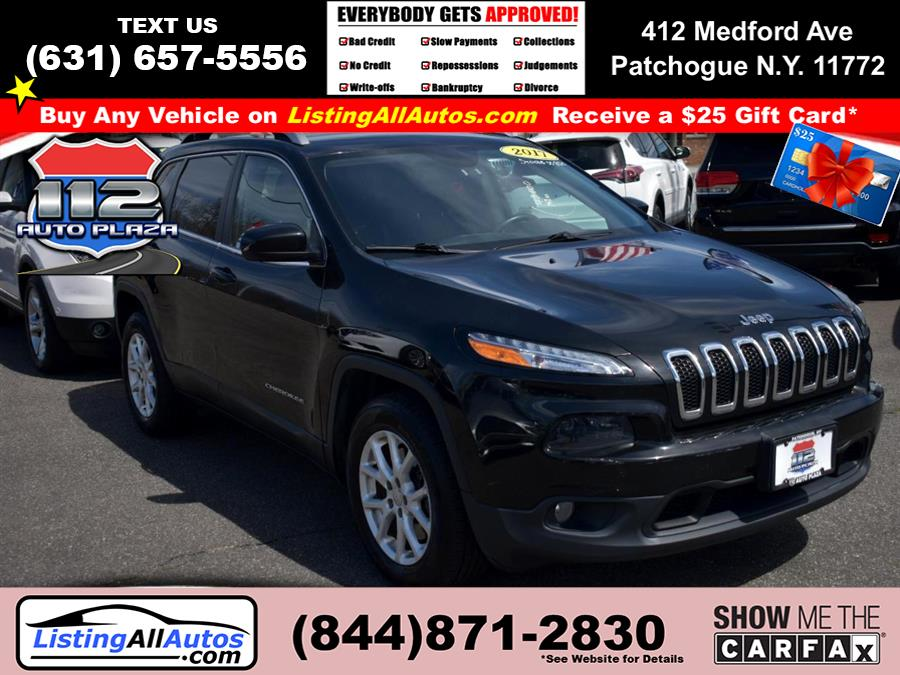 Used 2017 Jeep Cherokee in Patchogue, New York | www.ListingAllAutos.com. Patchogue, New York