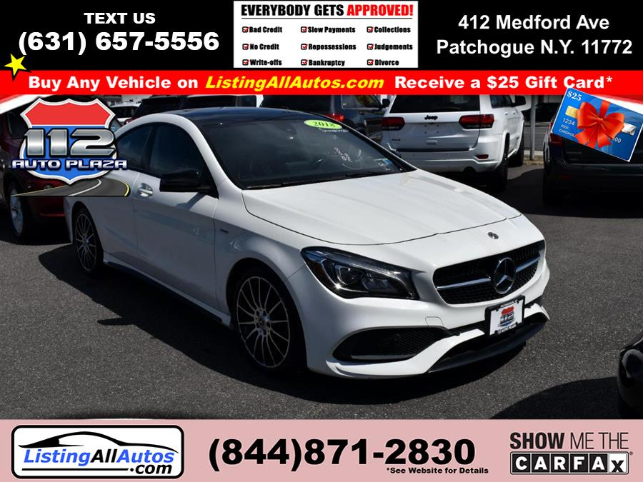 Used 2018 Mercedes-benz Cla in Patchogue, New York | www.ListingAllAutos.com. Patchogue, New York