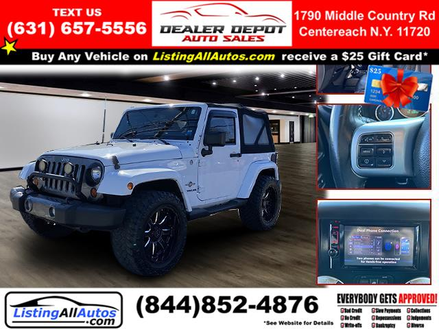 Used 2013 Jeep Wrangler in Patchogue, New York | www.ListingAllAutos.com. Patchogue, New York