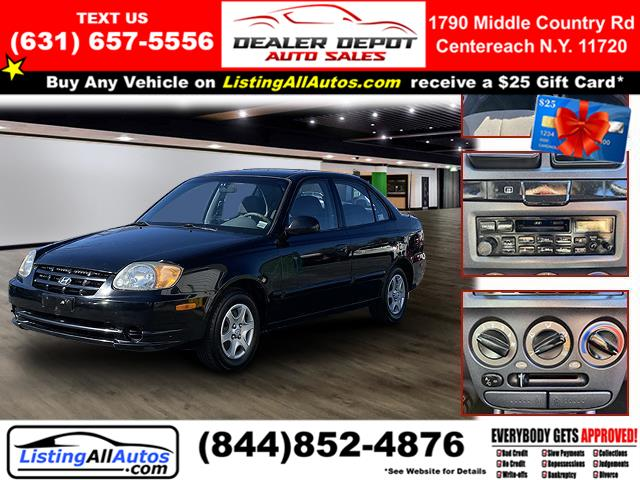 Used 2003 Hyundai Accent in Patchogue, New York | www.ListingAllAutos.com. Patchogue, New York