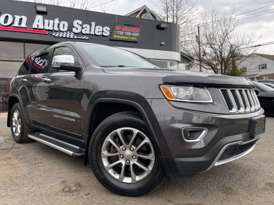 Used Jeep Grand Cherokee 4WD 4dr Limited 2015   Champion Auto Sales. Hillside, New Jersey