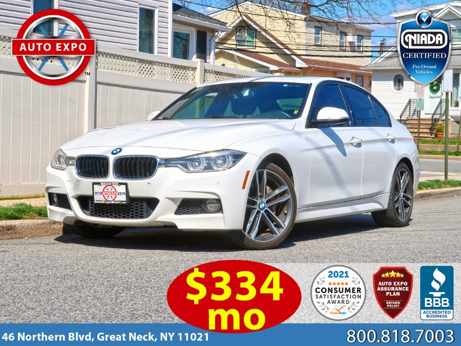 Used 2018 BMW 3 Series in Great Neck, New York | Auto Expo Ent Inc.. Great Neck, New York