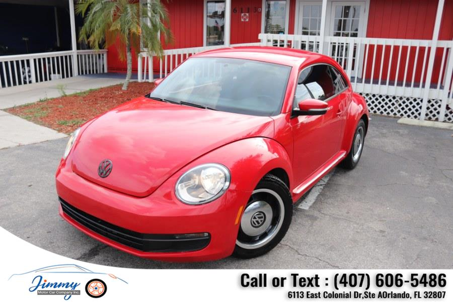 Used Volkswagen Beetle 2dr Cpe Auto 2.5L PZEV 2012 | Jimmy Motor Car Company Inc. Orlando, Florida
