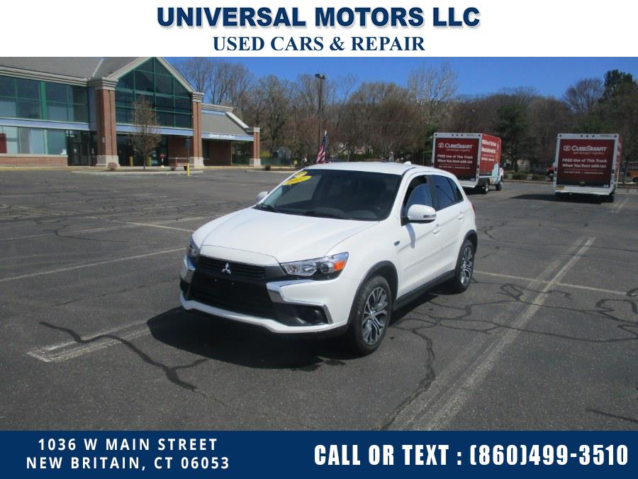 Used Mitsubishi Outlander Sport ES 2.0 AWC CVT 2017 | Universal Motors LLC. New Britain, Connecticut