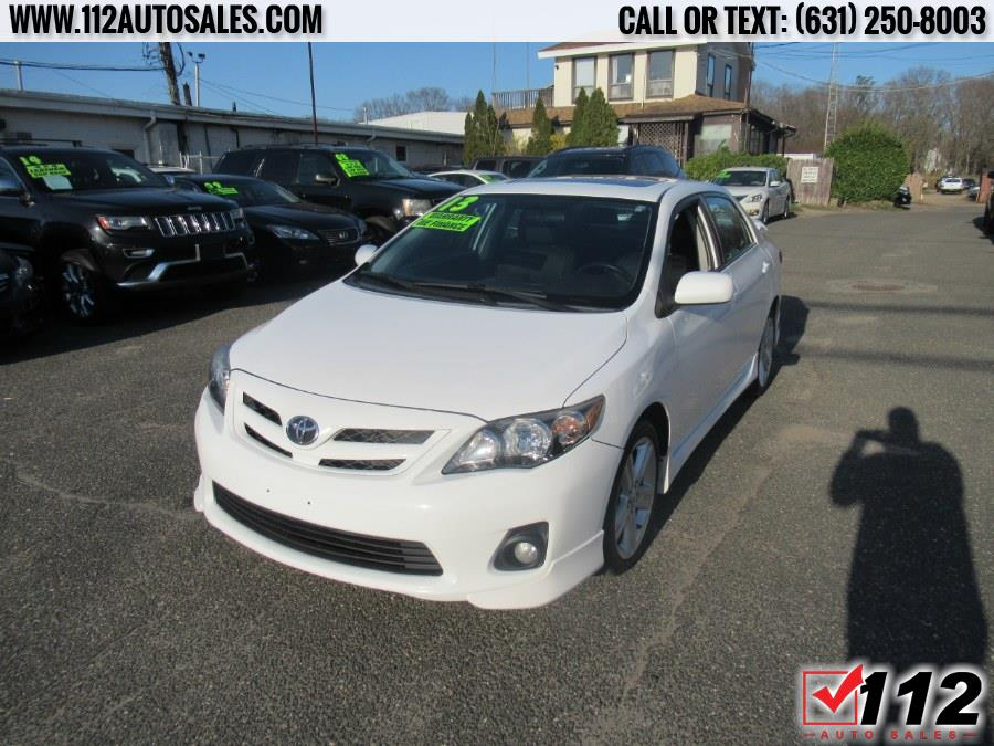 Used Toyota Corolla 4dr Sdn Auto S Special Edition (Natl) 2013 | 112 Auto Sales. Patchogue, New York