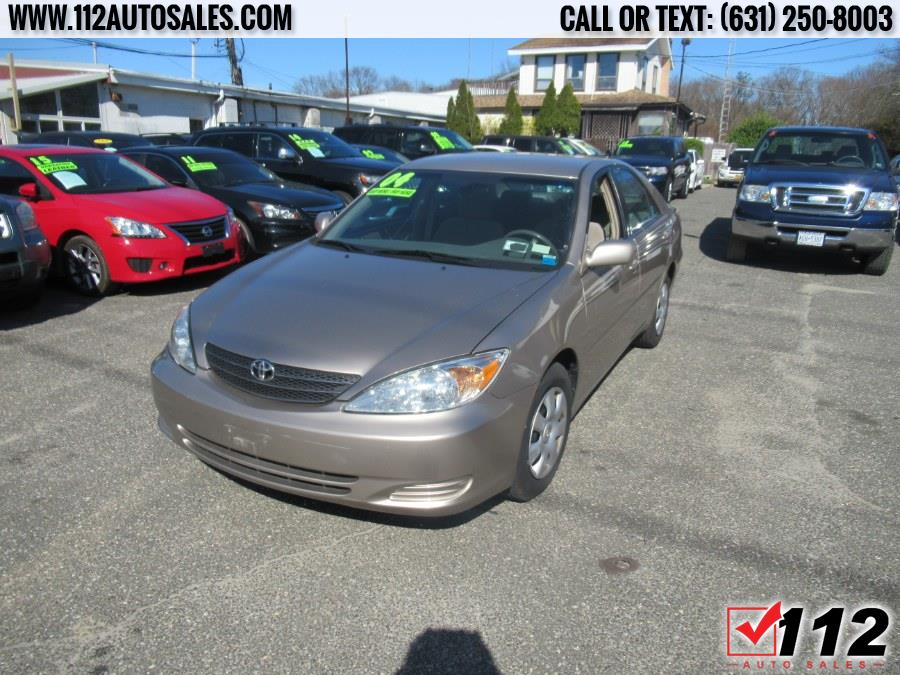Used Toyota Camry 4dr Sdn LE Auto (Natl) 2004 | 112 Auto Sales. Patchogue, New York
