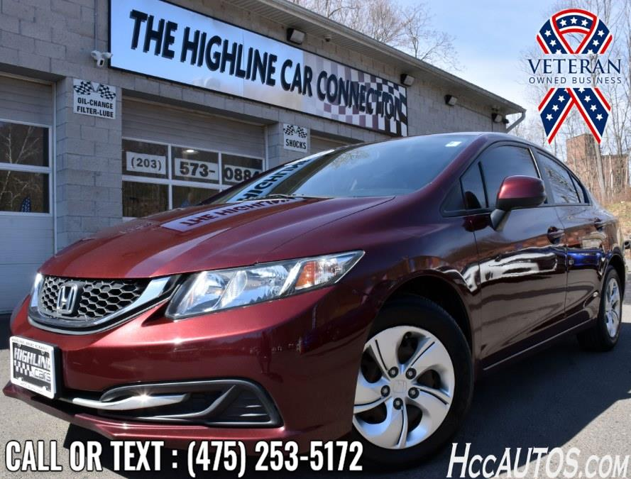 Used 2013 Honda Civic Sdn in Waterbury, Connecticut | Highline Car Connection. Waterbury, Connecticut