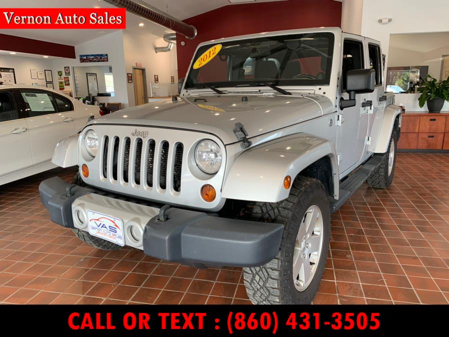 Used 2012 Jeep Wrangler Unlimited in Manchester, Connecticut | Vernon Auto Sale & Service. Manchester, Connecticut