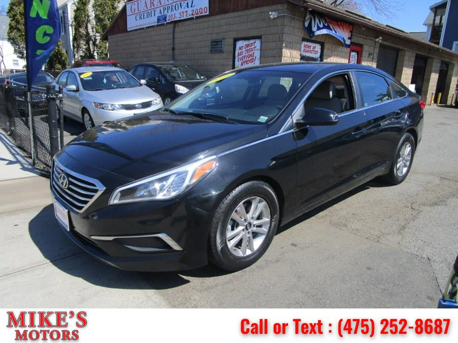 Used 2016 Hyundai Sonata in Stratford, Connecticut | Mike's Motors LLC. Stratford, Connecticut
