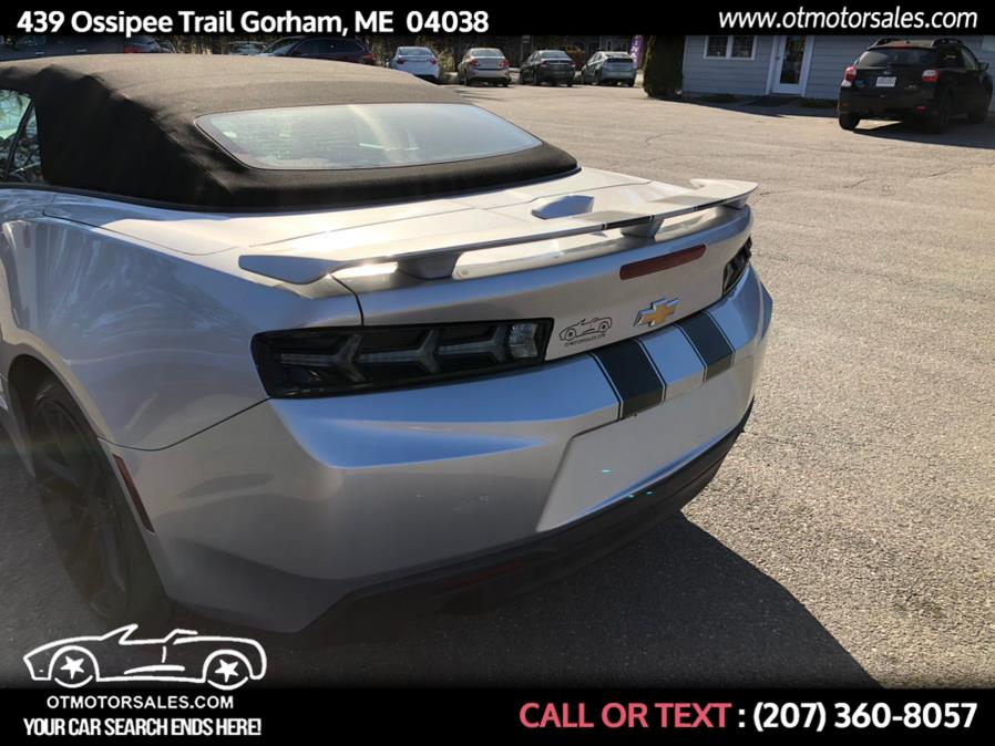 Used Chevrolet Camaro 2dr Conv 1SS 2017 | Ossipee Trail Motor Sales. Gorham, Maine