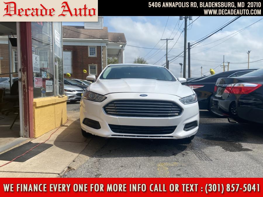 Used 2016 Ford Fusion in Bladensburg, Maryland | Decade Auto. Bladensburg, Maryland