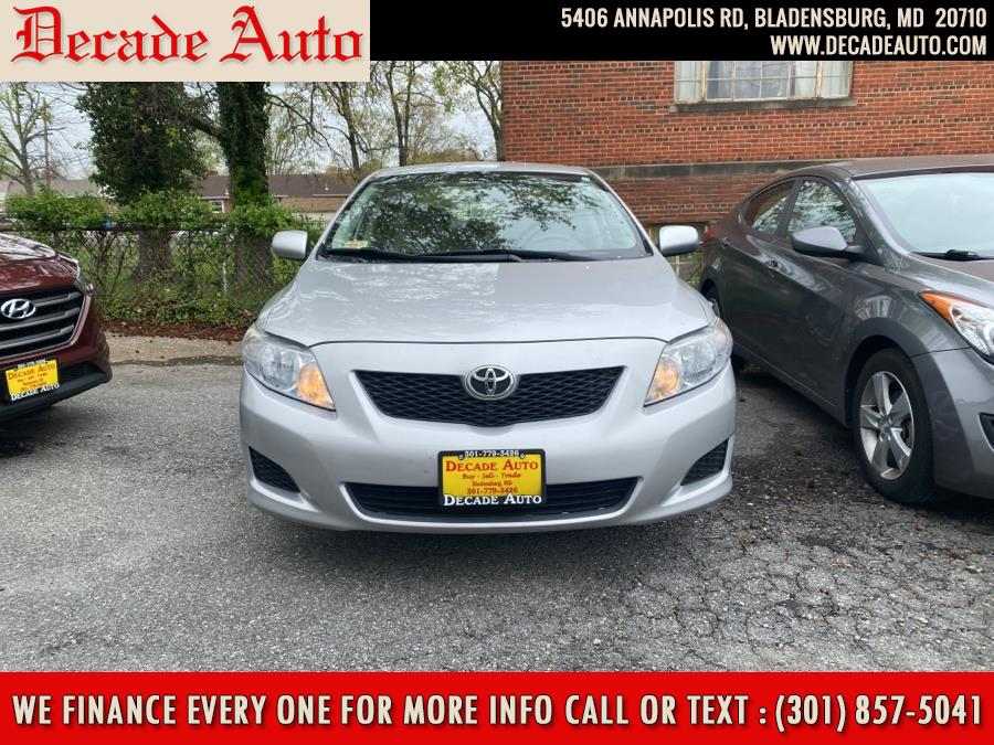 Used 2010 Toyota Corolla in Bladensburg, Maryland | Decade Auto. Bladensburg, Maryland