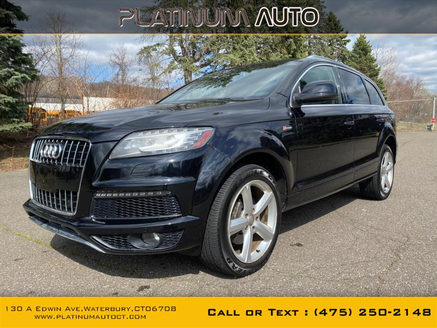 Used Audi Q7 quattro 4dr 3.0T S line 2011 | Platinum Auto Care. Waterbury, Connecticut