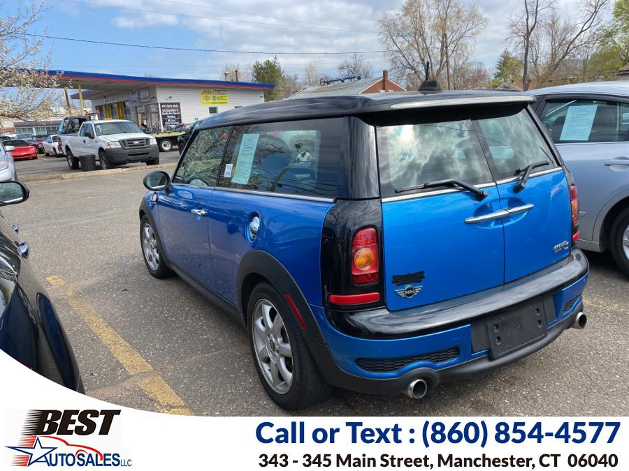 Used MINI Cooper Clubman 2dr Cpe S 2010   Best Auto Sales LLC. Manchester, Connecticut