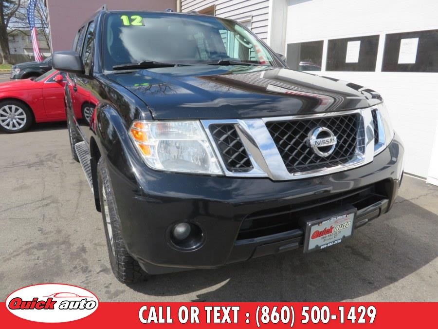 Used 2012 Nissan Pathfinder in Bristol, Connecticut | Quick Auto LLC. Bristol, Connecticut