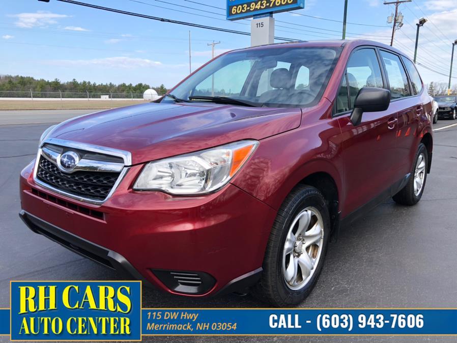 Used 2014 Subaru Forester in Merrimack, New Hampshire | RH Cars LLC. Merrimack, New Hampshire