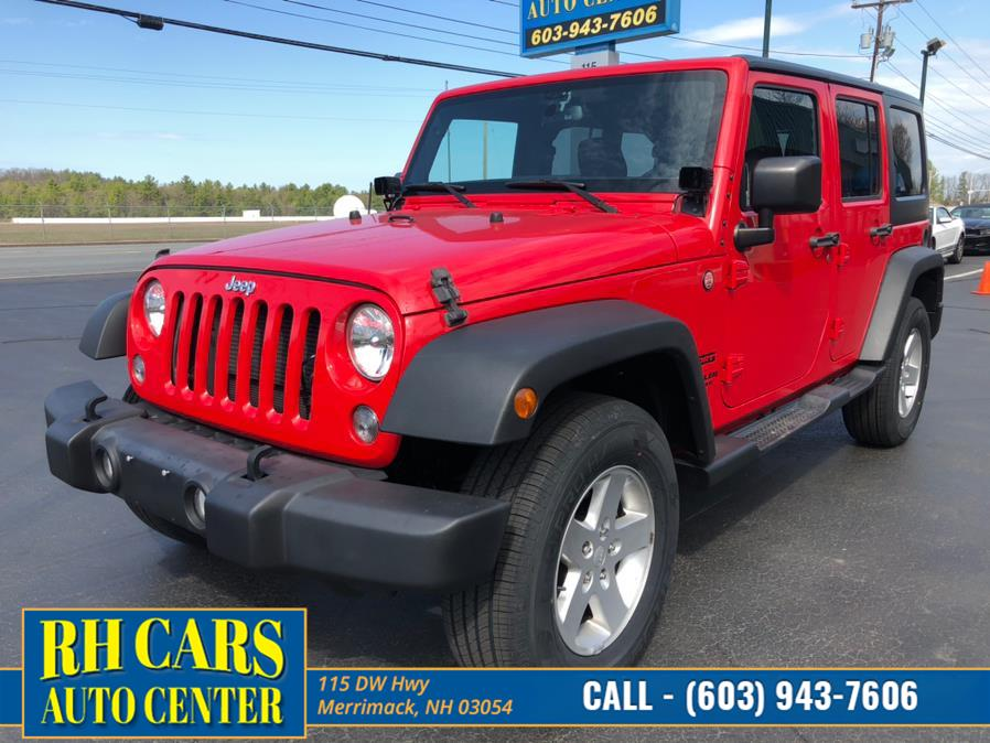 Used Jeep Wrangler Unlimited Sport 4WD 2015 | RH Cars LLC. Merrimack, New Hampshire