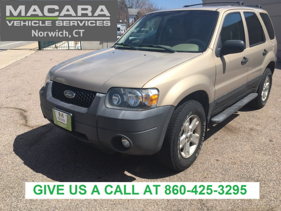 Used 2007 Ford Escape in Norwich, Connecticut | MACARA Vehicle Services, Inc. Norwich, Connecticut