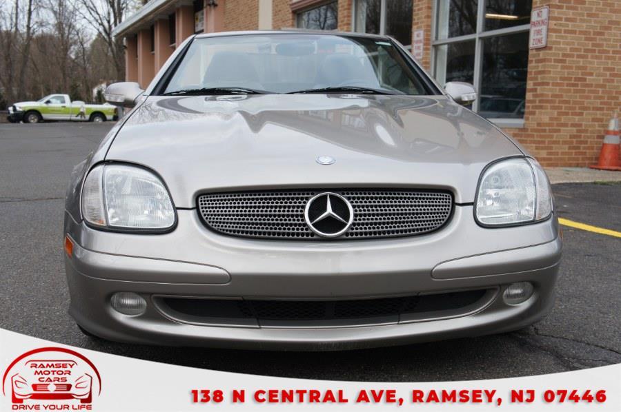 Used Mercedes-Benz SLK-Class 2dr Kompressor Roadster 2.3L 2003   Ramsey Motor Cars Inc. Ramsey, New Jersey