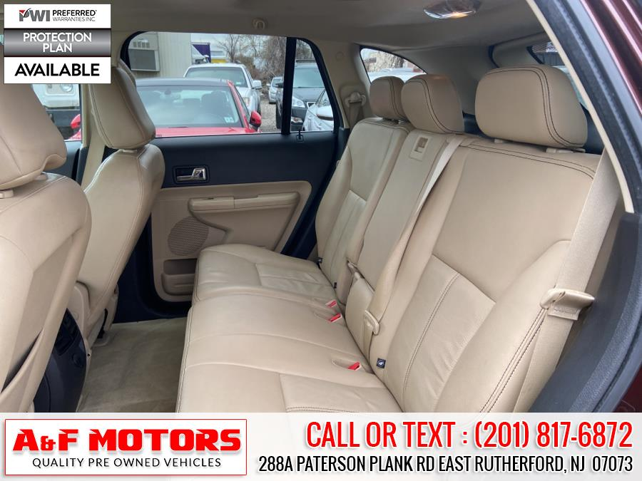 Used Ford Edge 4dr Limited FWD 2010   A&F Motors LLC. East Rutherford, New Jersey