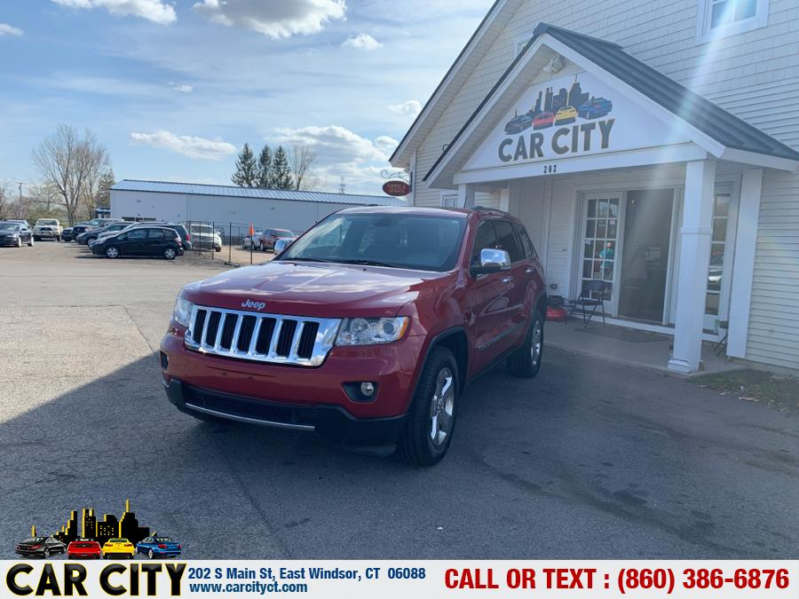 Used Jeep Grand Cherokee 4WD 4dr Limited 2011 | Car City LLC. East Windsor, Connecticut