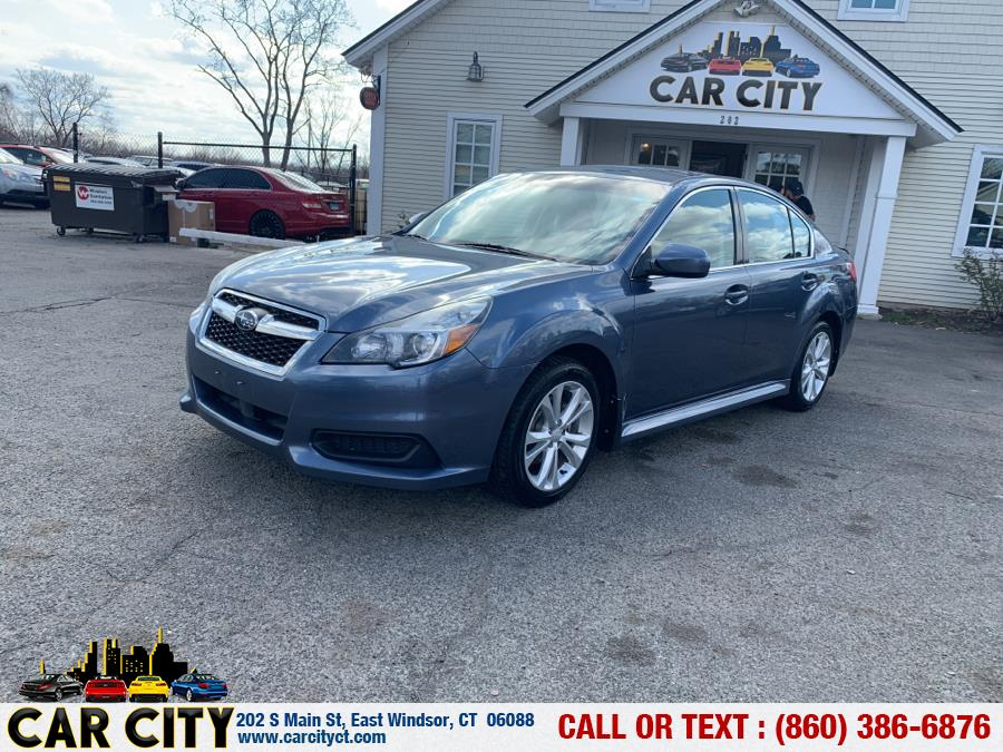 Used Subaru Legacy 4dr Sdn H4 Auto 2.5i Premium 2014 | Car City LLC. East Windsor, Connecticut