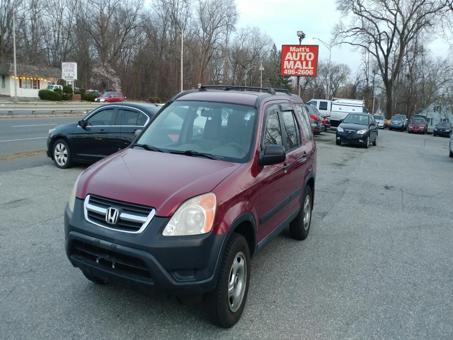 Used 2003 Honda CR-V in Chicopee, Massachusetts | Matts Auto Mall LLC. Chicopee, Massachusetts