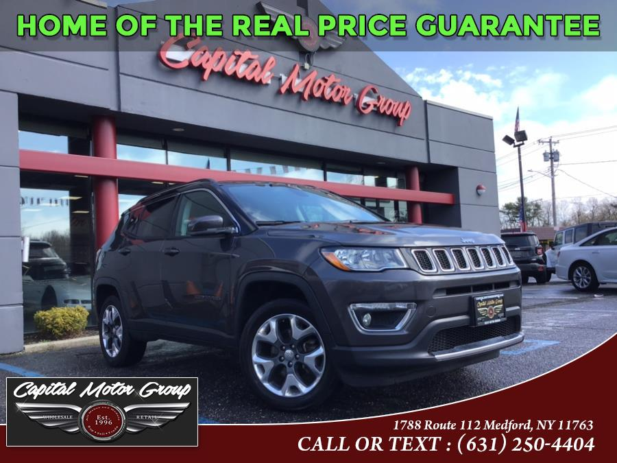 Used Jeep Compass Limited 4x4 2018 | Capital Motor Group Inc. Medford, New York