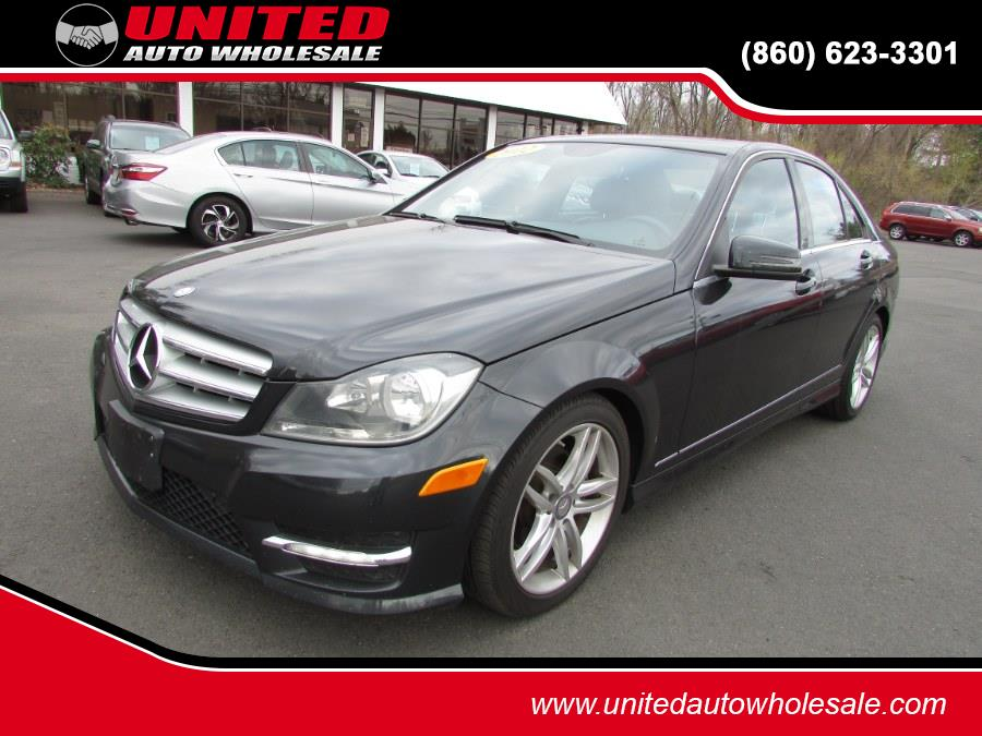 Used Mercedes-Benz C-Class 4dr Sdn C300 Sport 4MATIC 2012 | United Auto Sales of E Windsor, Inc. East Windsor, Connecticut